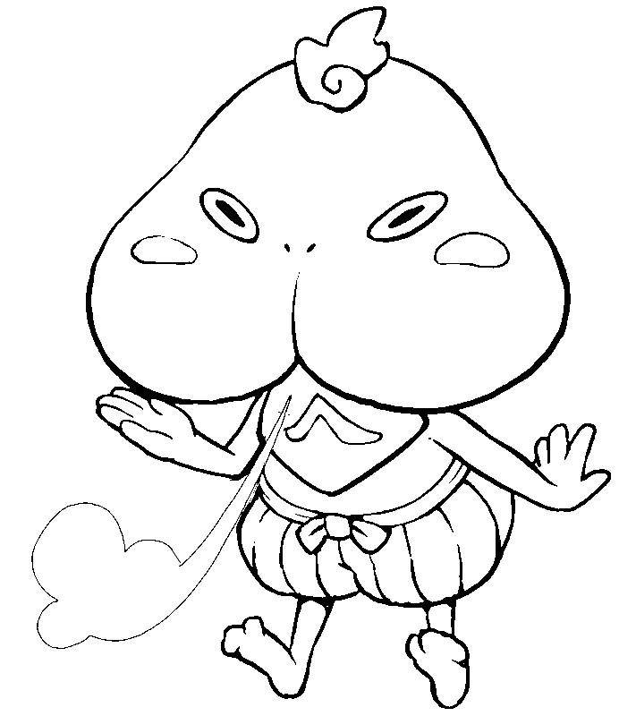 yo kai watch coloring pages - photo#12