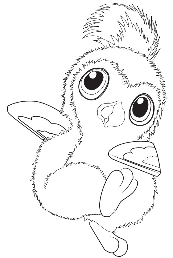 Coloring Page Hatchimals 1