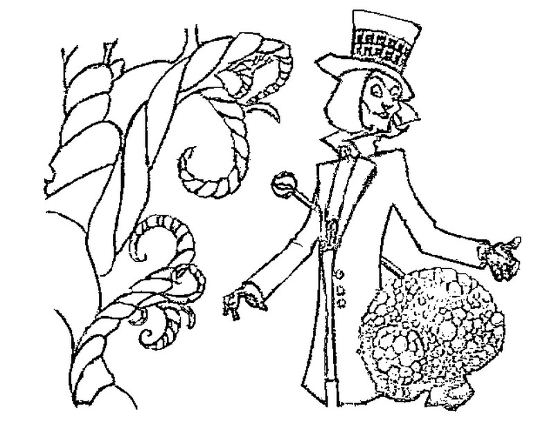 oompa loompa coloring pages - photo#9