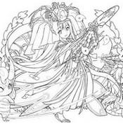 색칠 농사의 여신 구시나다히메