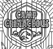 ぬりえ Camp Cretaceous