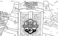 ぬりえ Jurassic World - Camp Creataceous