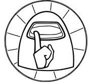 ぬりえ ロゴ