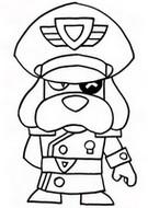 색칠 신규 브롤러 - 러프스 대령