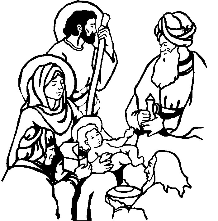 epiphany coloring pages free - photo#13