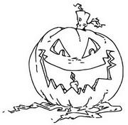 ぬりえ かぼちゃ