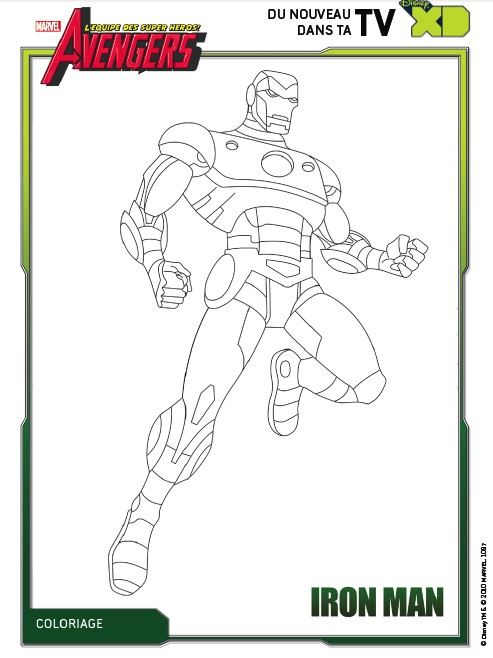 Coloring page the avengers 5 - Coloriage avengers 2 ...