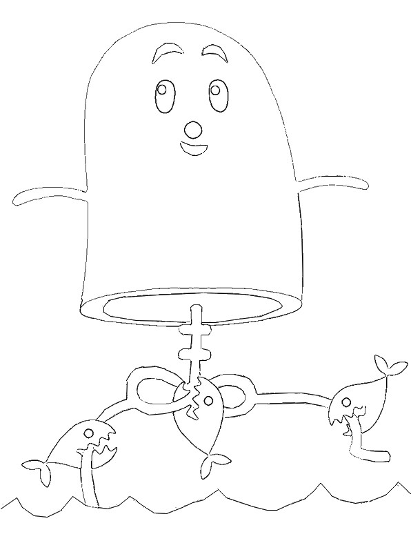 One Die Free Coloring Pages