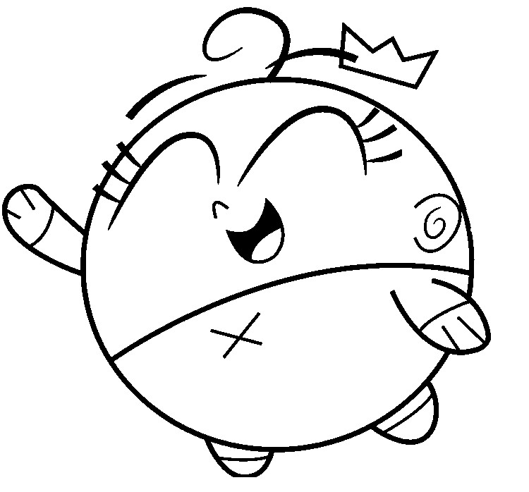 Coloring Page The Fairly Oddparents Poof 2 Fairly Parents Coloring Pages