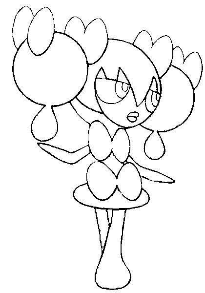 Pokemon Dedenne Kleurplaat Coloriage Pokmon Dedenne Coloriages