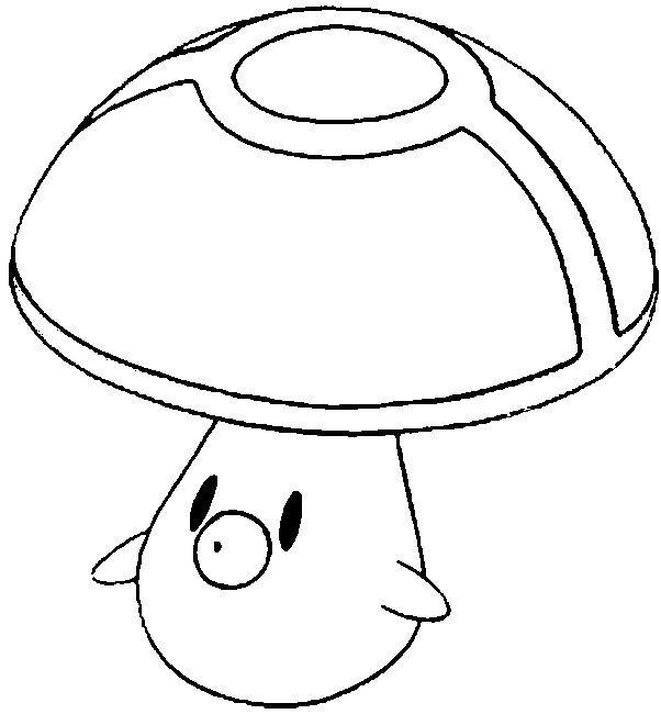 foongus pokemon coloring pages - photo#2