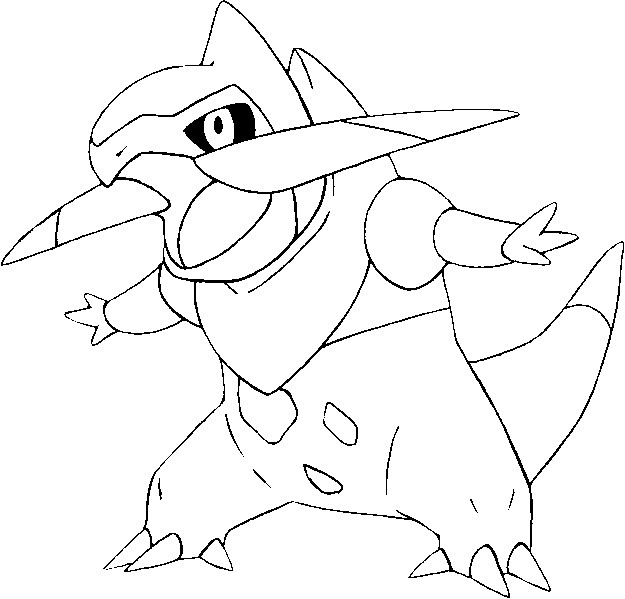 fraxure coloring pages - photo#2